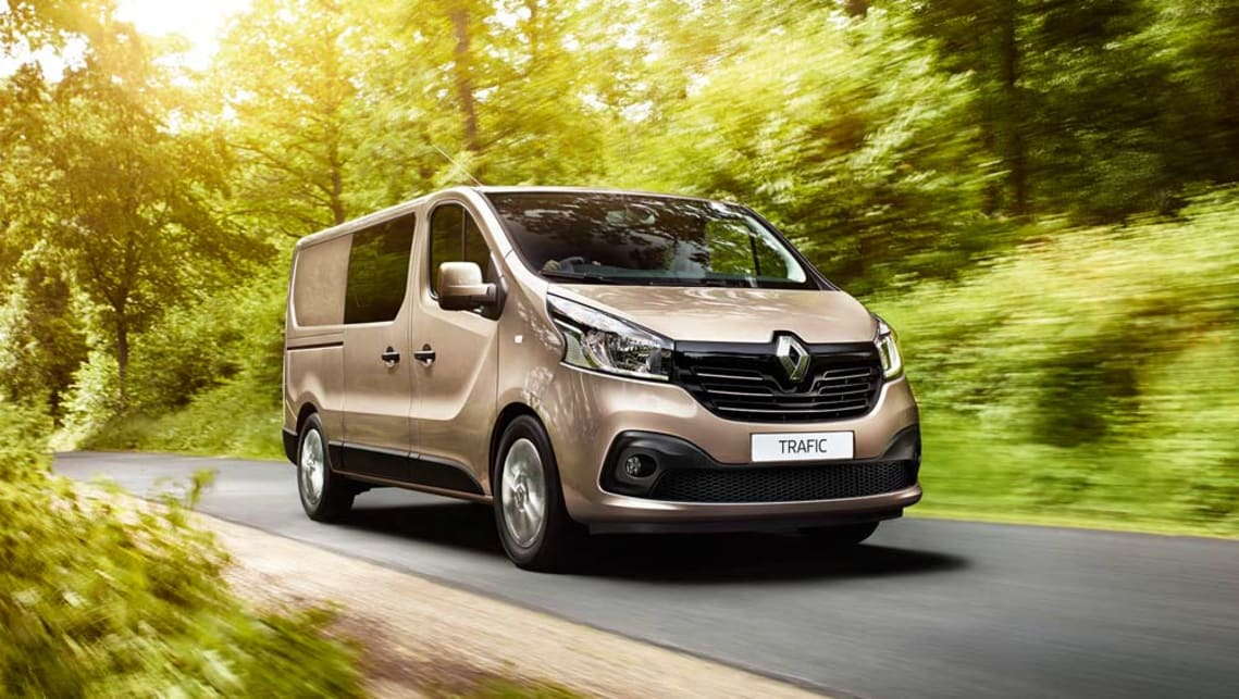 2017 renault trafic crew goes dual purpose car news carsguide. Black Bedroom Furniture Sets. Home Design Ideas