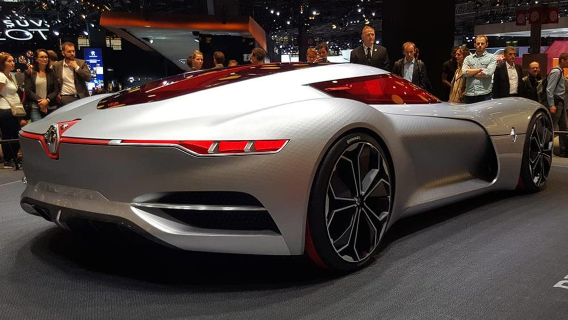 Renault Trezor concept revealed in Paris - Car News   CarsGuide