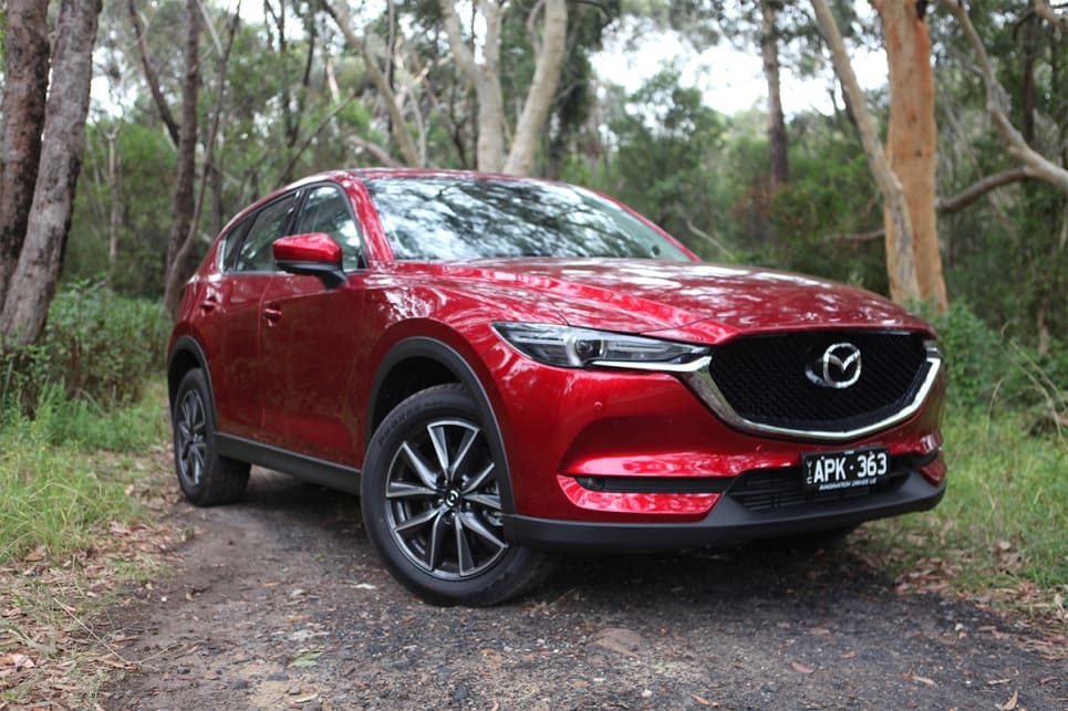 mazda cx 5 gt awd diesel 2018 off road review carsguide. Black Bedroom Furniture Sets. Home Design Ideas