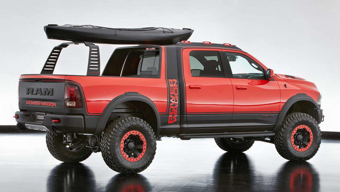 Jeep Chrysler Dodge And Ram Mopar Concepts Revealed At