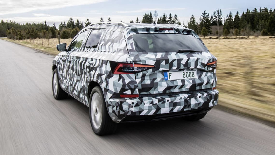 2018 Skoda Karoq To Replace Yeti Suv Car News Carsguide