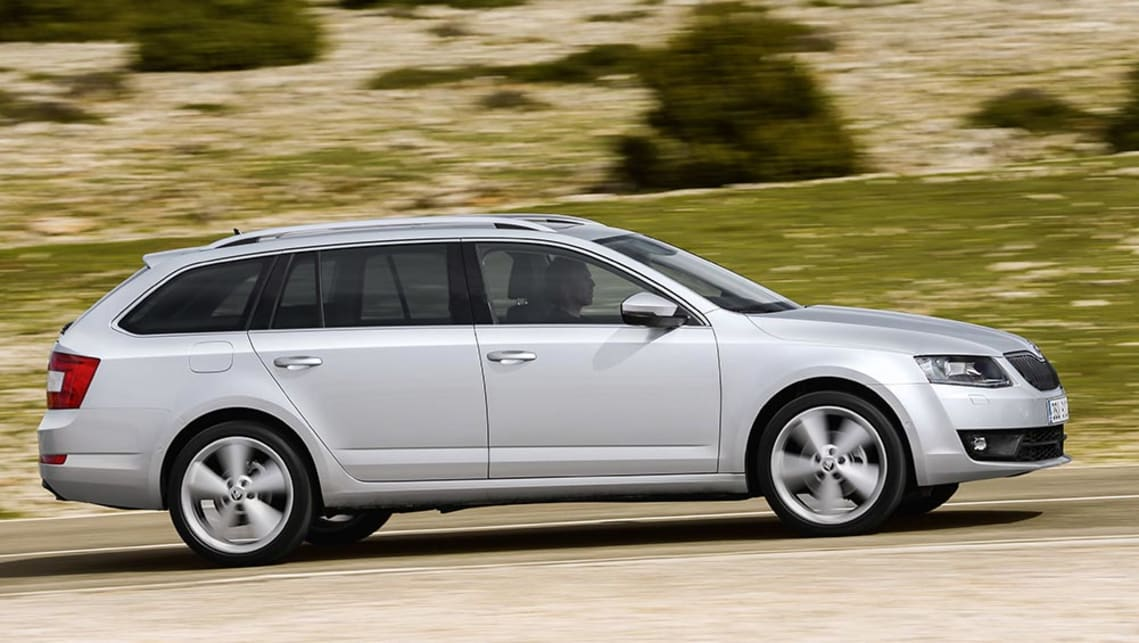 2016 Skoda Octavia Style 110TDI (international model shown).