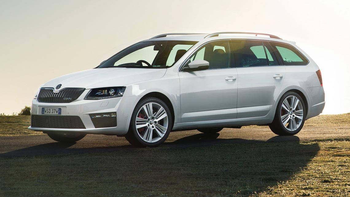 Skoda Octavia Rs 135tdi Wagon 2016 Review Snapshot Carsguide