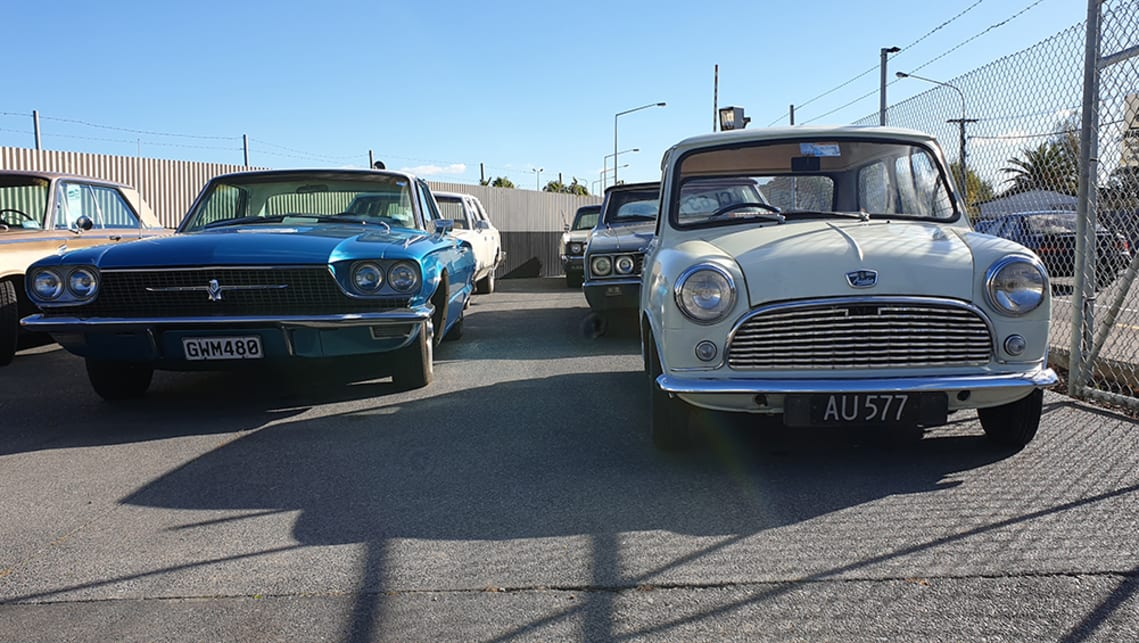 Sweet Stash Of Classic Cars Uncovered In Christchurch Nz