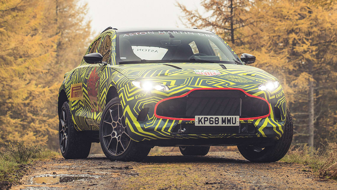 The DBX will be the first SUV built by Aston Martin.