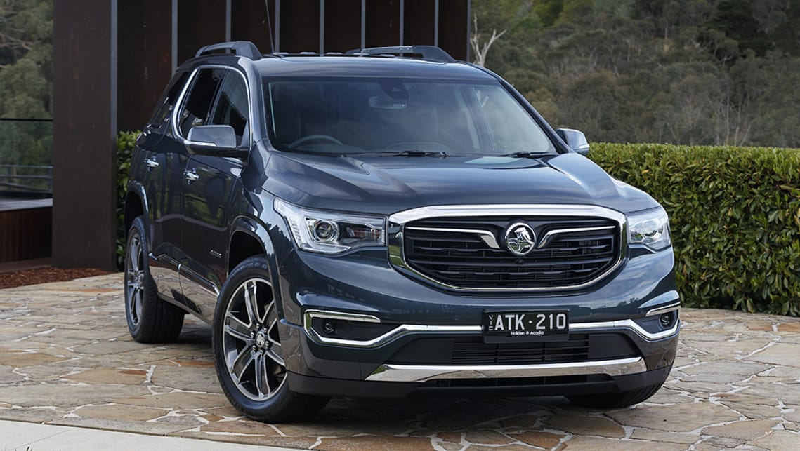 Holden Acadia 2019 pricing and specs confirmed - Car News ...