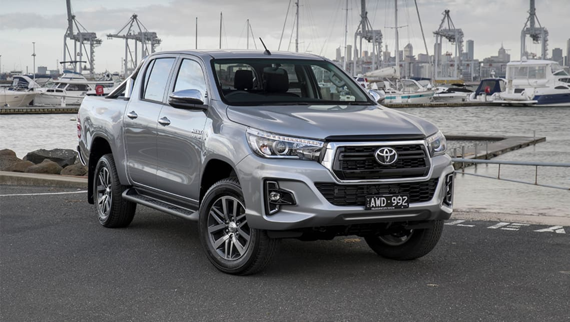 Toyota Hilux 2018 Facelift Revealed Car News Carsguide