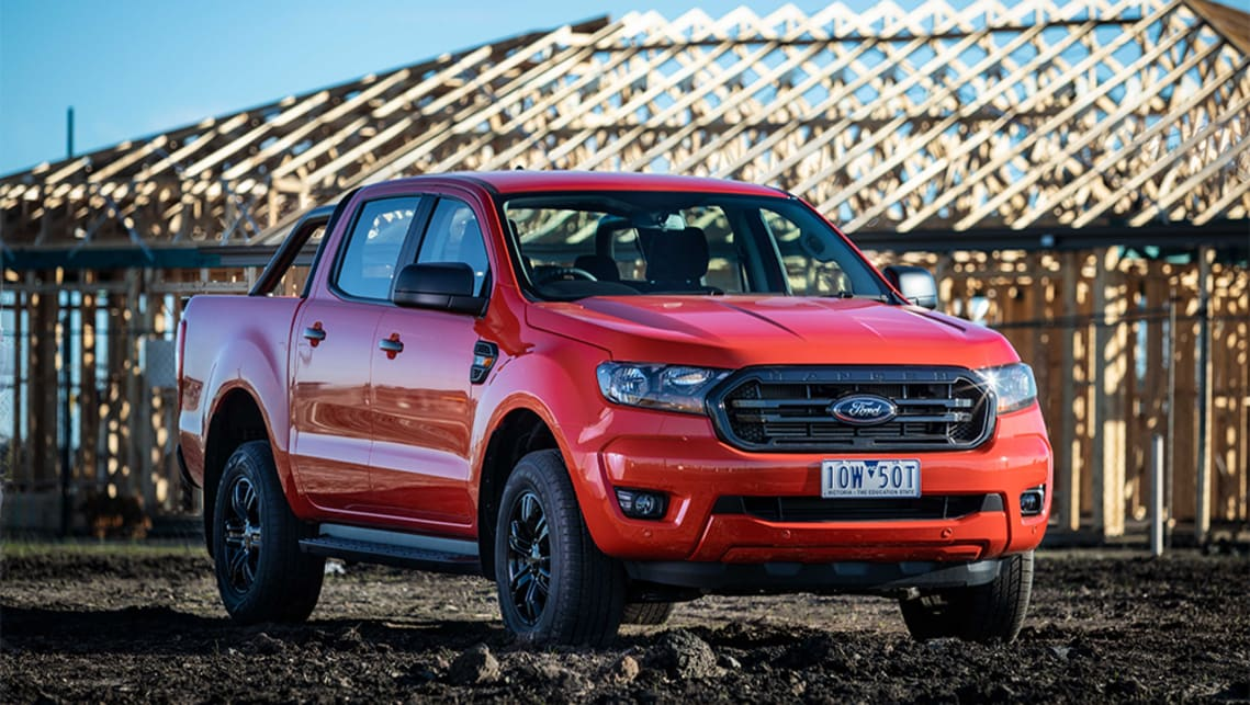 The new Ford Ranger Sport adds a bunch of gear over the XLS dual cab 4x4 it's based on.