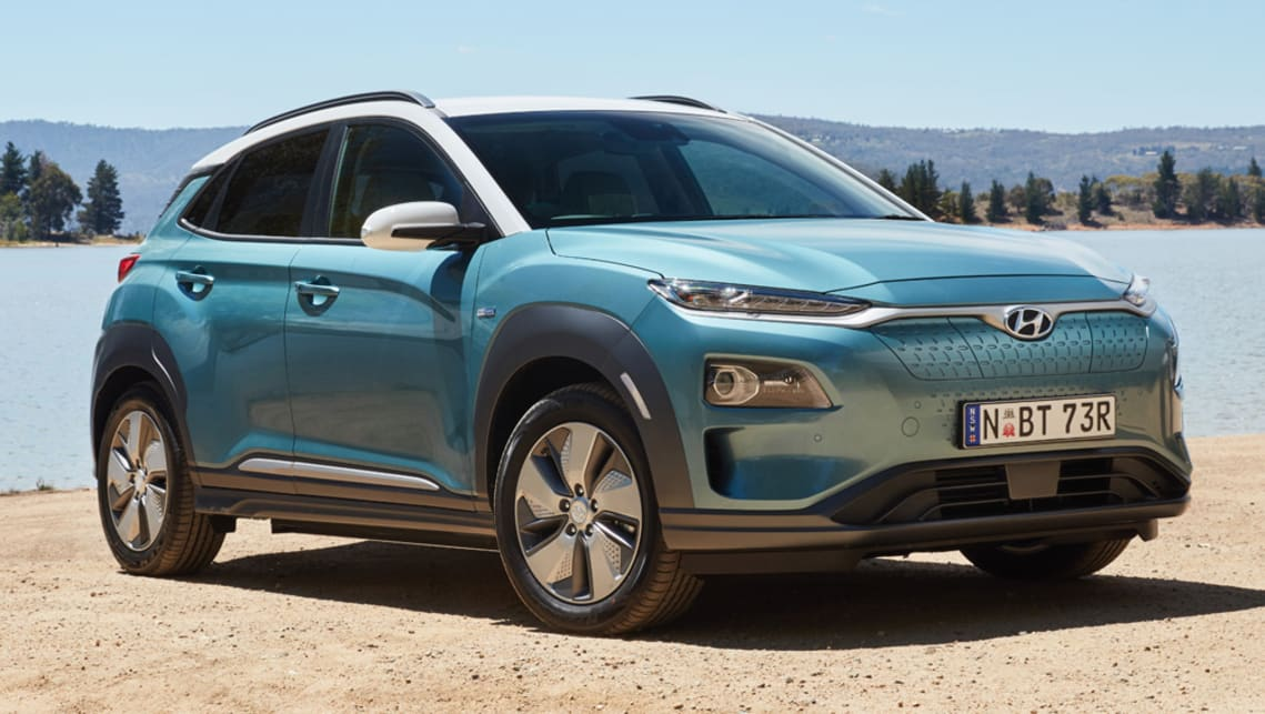 With a 64kWh battery installed, the Hyundai Kona Electric can travel around 449 kilometres before needing a recharge.