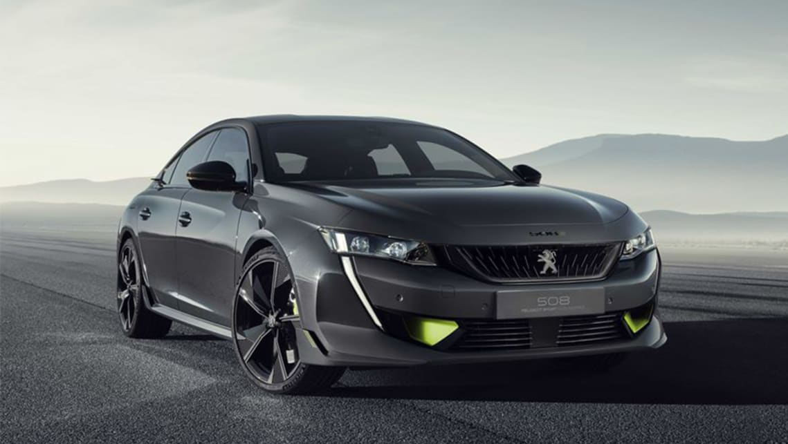 The first ever performance-focused Peugeot 508 has been confirmed by the company's CEO on Twitter.