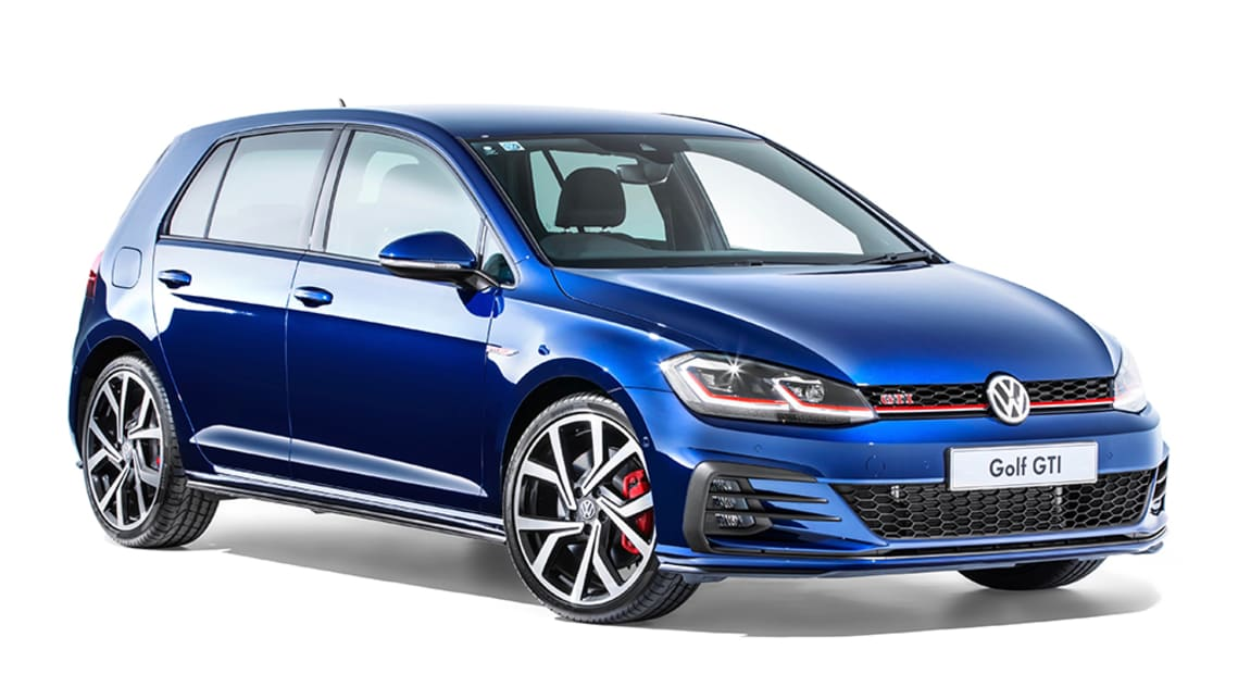 volkswagen golf gti 2019 priced at 47 990 drive away. Black Bedroom Furniture Sets. Home Design Ideas