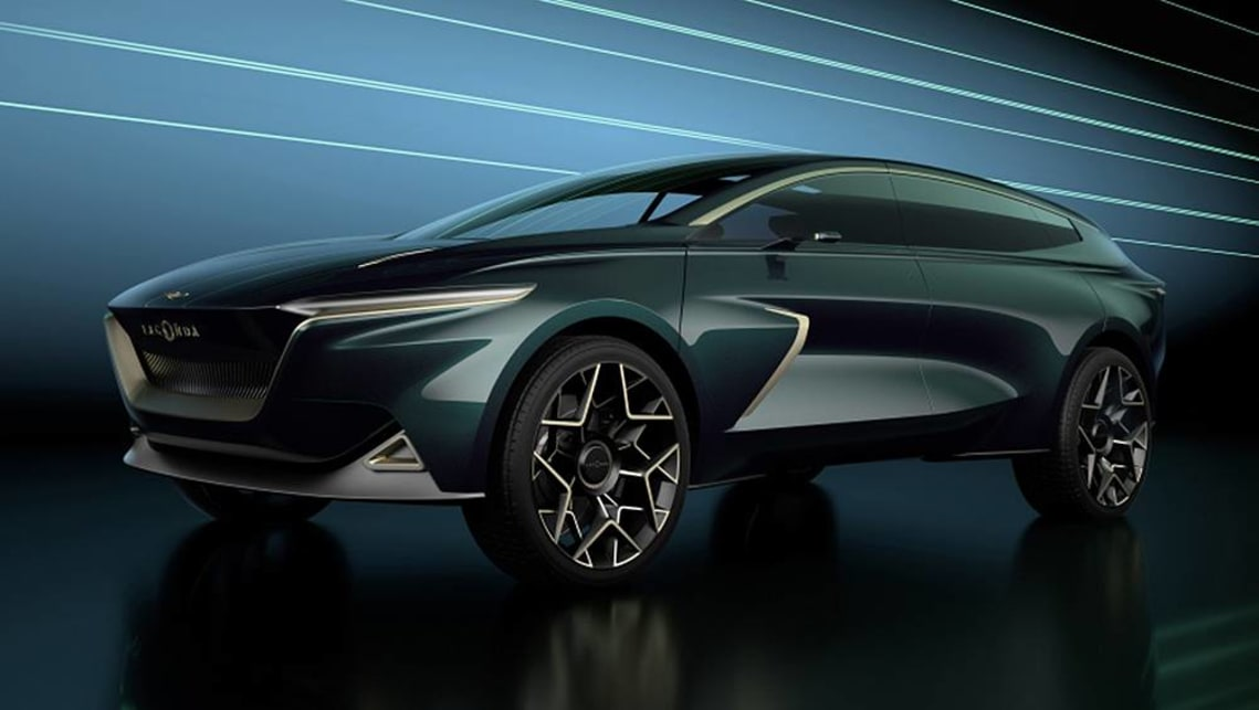 The Lagonda All-Terrain Concept previews an electric SUV set to go into production in 2022.