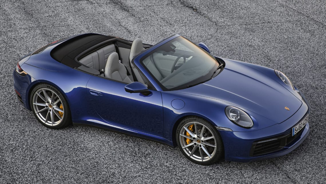 Porsche's new 911 Cabriolet will launch in the second quarter of 2019 with a price starting at $286,500 before on-roads.