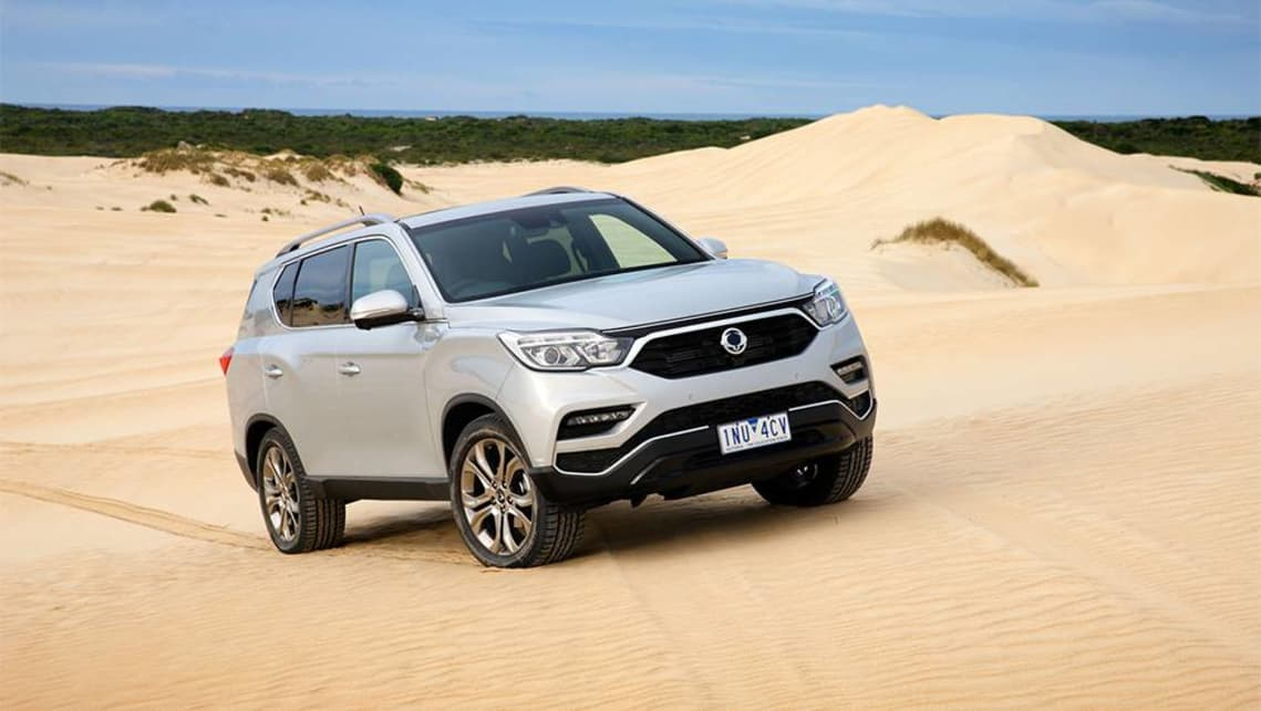 Ssangyong's 2019 models include the Tivoli, Tivoli XLV, the new Musso 4X4 ute, and the new Rexton.