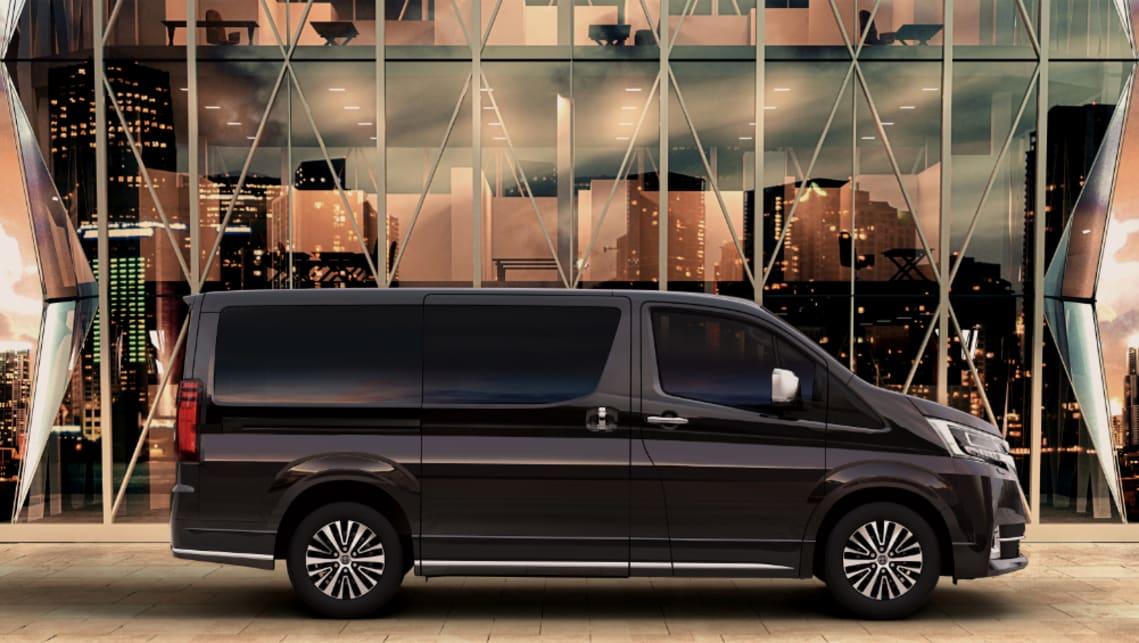 Toyota Granvia 2020 Confirmed For Australia Luxury Van