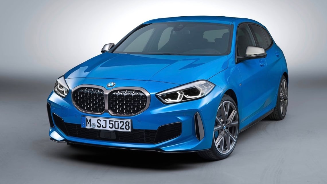 bmw 1 series 2020 revealed: baby beemer goes front-drive