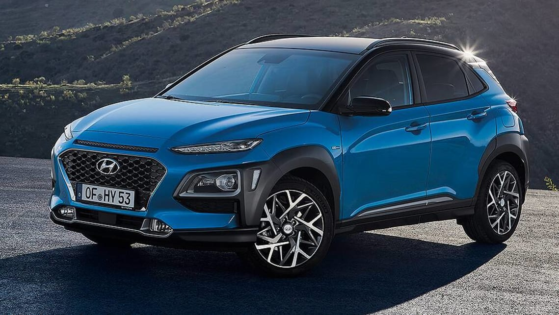 Hyundai Kona Hybrid 2019 revealed - Car News | CarsGuide