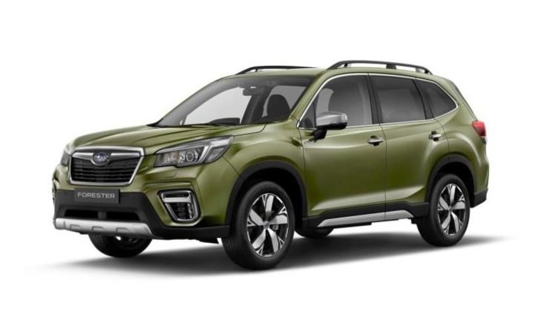 Subaru Forester 2019 e-Boxer hybrid due late this year - Car News
