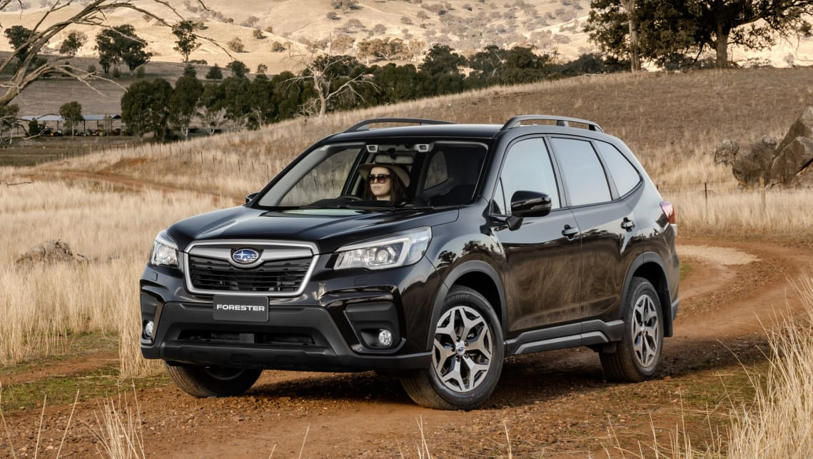 subaru forester 2019 review snapshot carsguide. Black Bedroom Furniture Sets. Home Design Ideas
