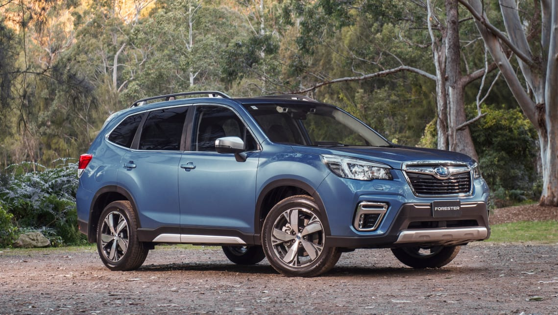 the top spec 2 5i s tops off the forester range starting at 41 490