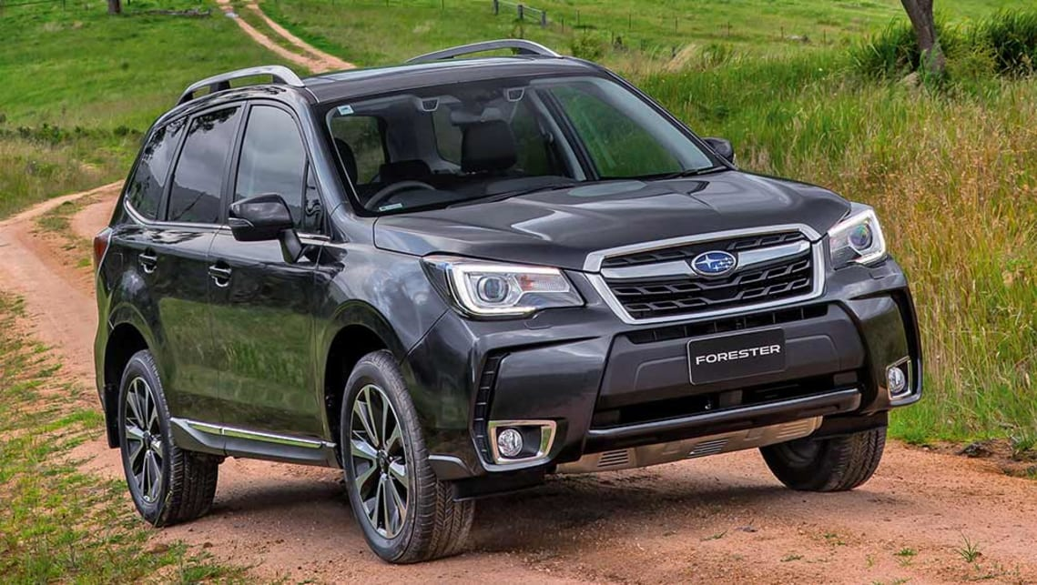 2016 subaru forester review first drive video carsguide. Black Bedroom Furniture Sets. Home Design Ideas