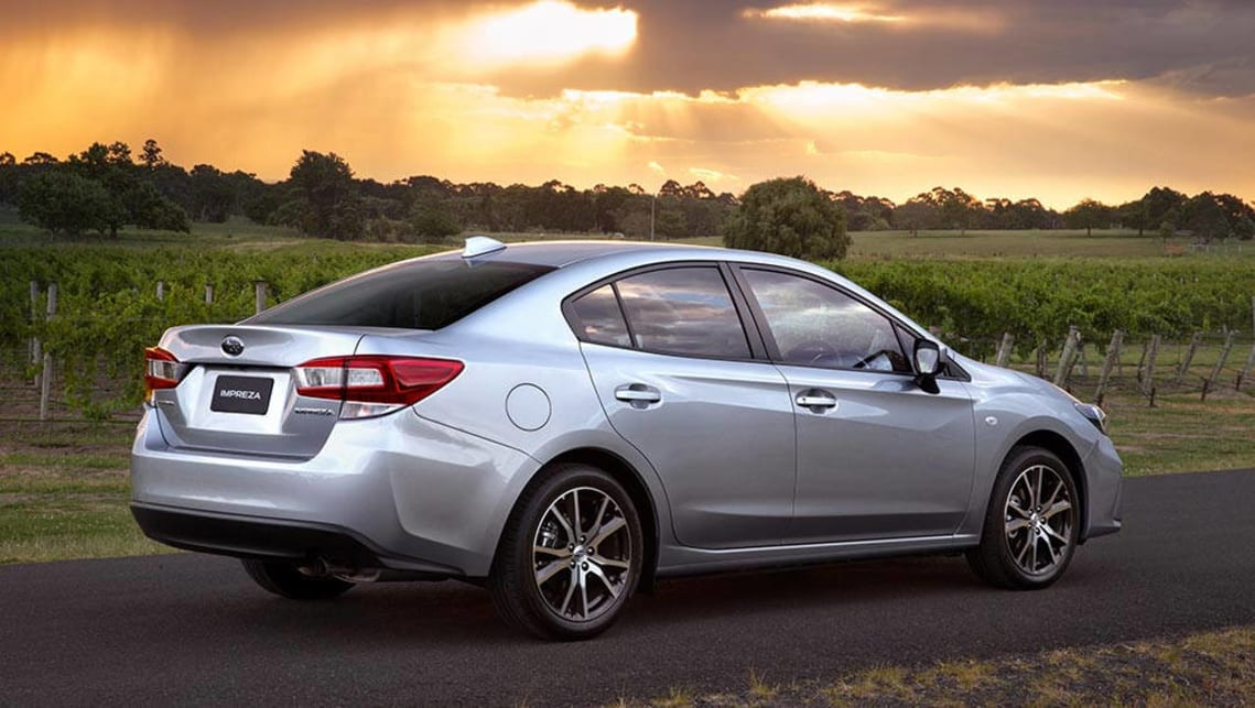 subaru impreza sedan 2017 review snapshot carsguide