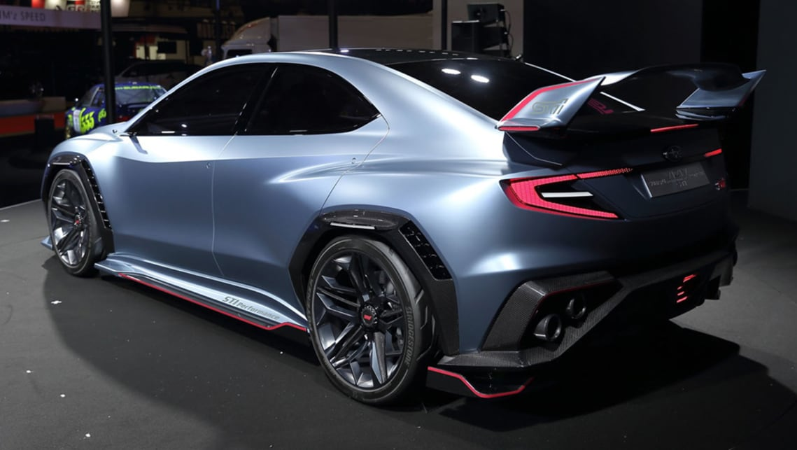 Subaru Sti Viziv Performance Concept Previews Next Gen