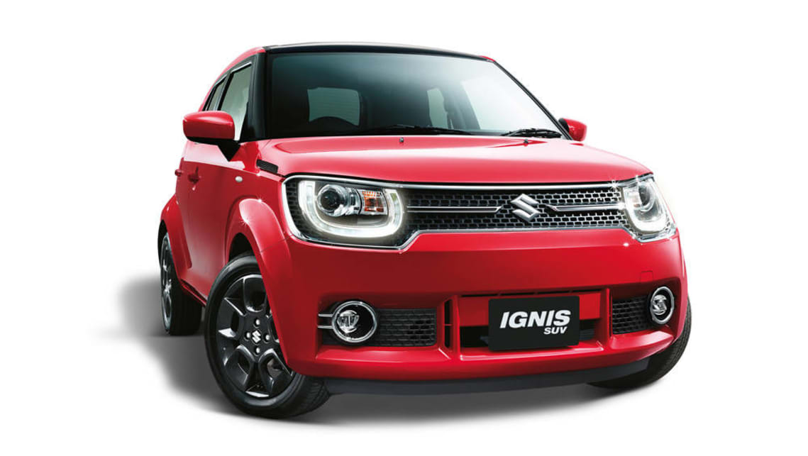 2017 Suzuki Ignis | new car sales price - Car News | CarsGuide