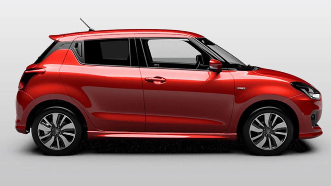 2017 suzuki swift revealed car news carsguide. Black Bedroom Furniture Sets. Home Design Ideas