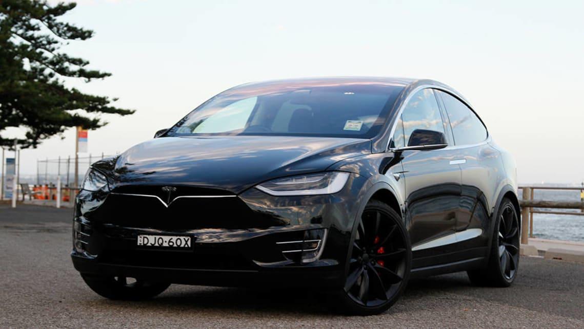 Tesla Model X P90d 2017 Review Carsguide