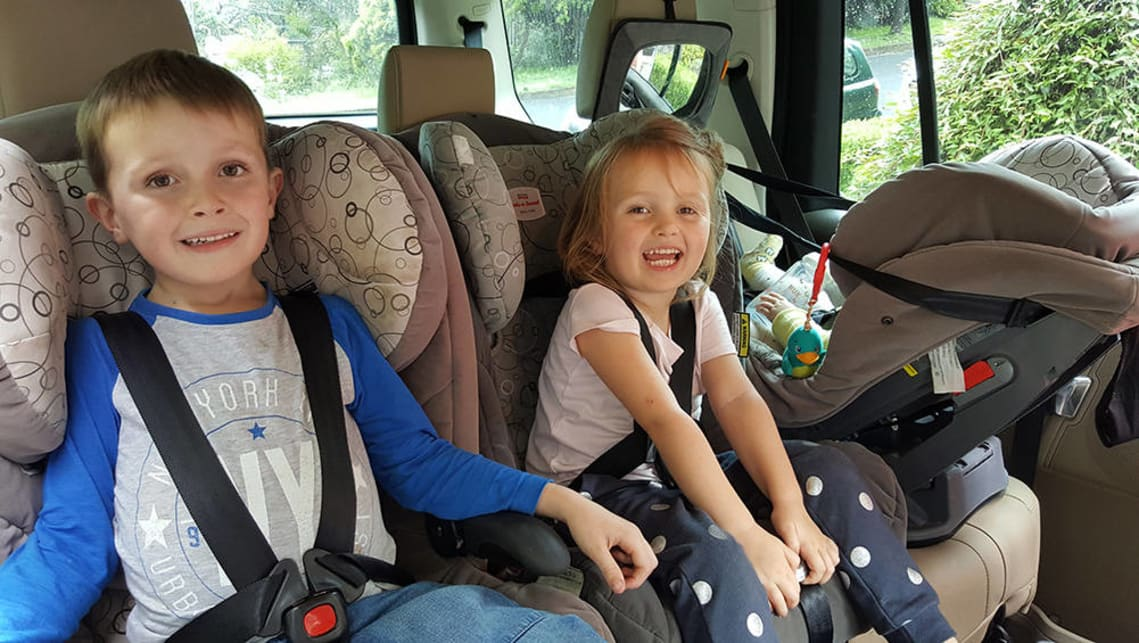 choose the right car to suit three child seats - Car Advice ...
