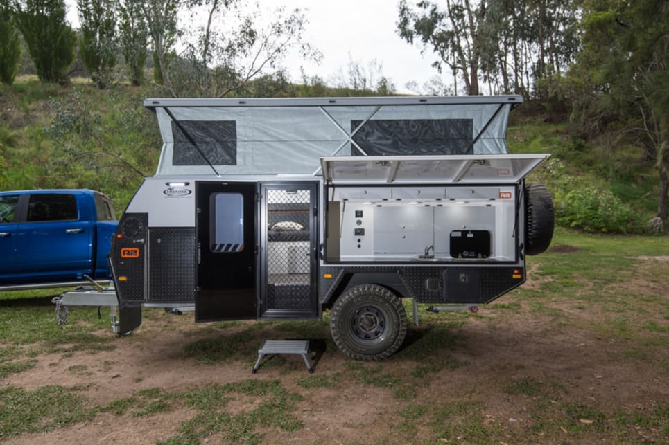 The R2 is a caravan, but the manufacturer calls it a camper trailer, so we will too. Images by Brendan Batty/campertraierreview.com.au.