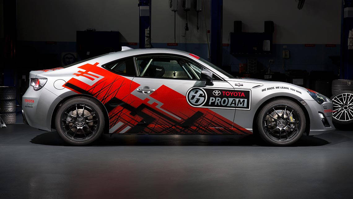 Toyota 86 Pro-Am racer revealed - Car News | CarsGuide