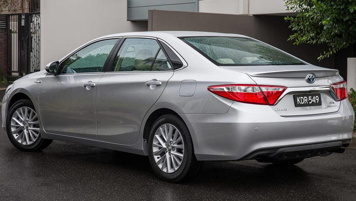toyota camry hybrid 2016 review long term carsguide. Black Bedroom Furniture Sets. Home Design Ideas