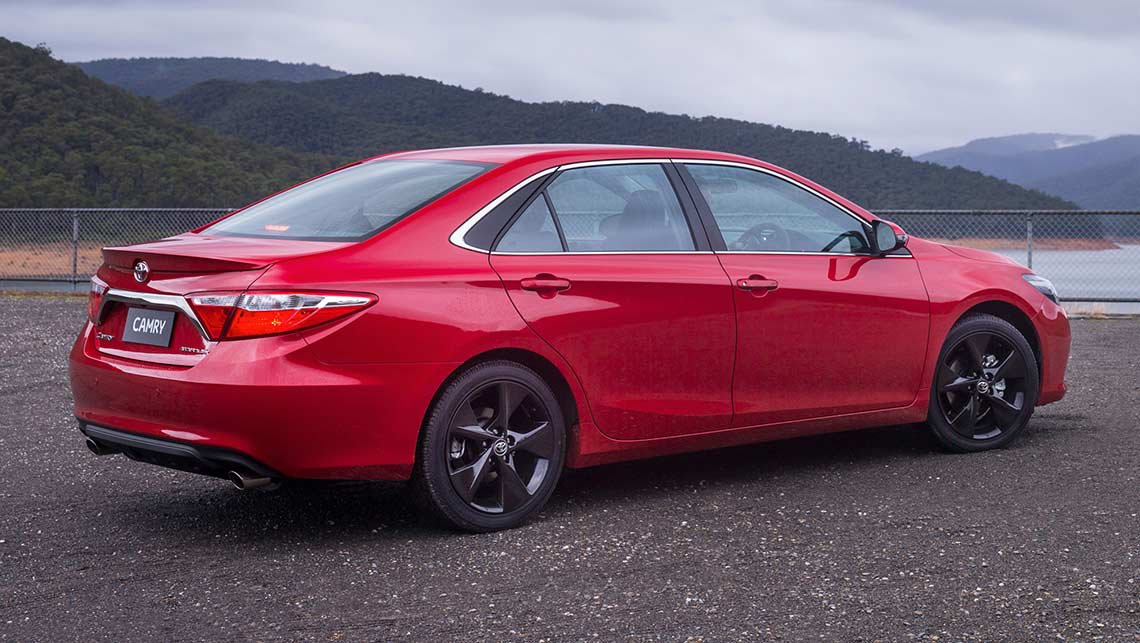 2015 Toyota Camry Atara Sx Review Road Test Carsguide