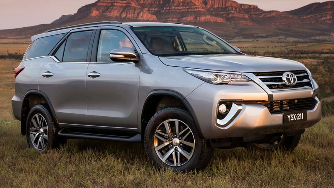 Toyota Fortuner Crusade 2016 Review Carsguide