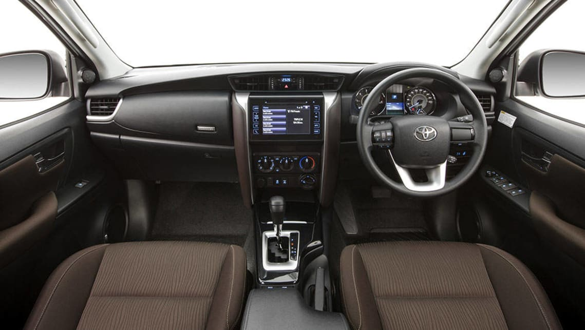 2015 Toyota Fortuner interior revealed - Car News | CarsGuide