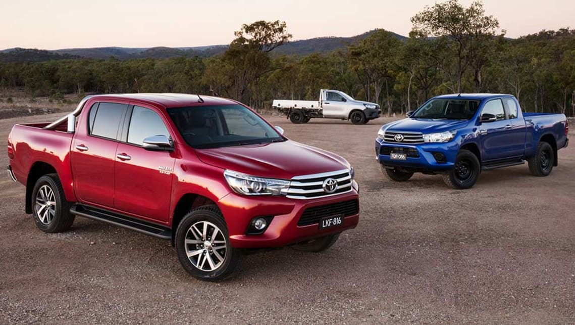2015 Toyota Hilux New Car Sales Price Car News Carsguide