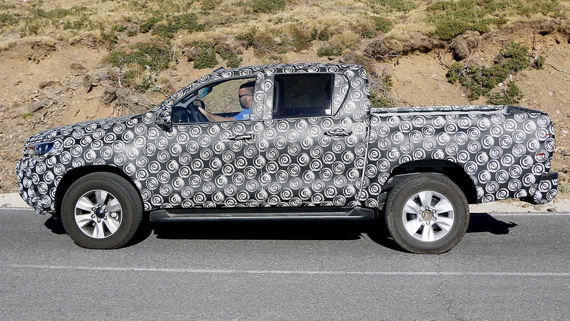 2015 Toyota Hilux Ute Spy Shots Car News Carsguide