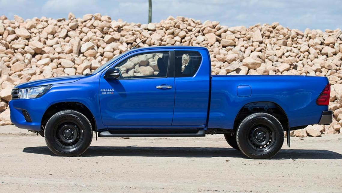 Car Sticker Maker >> Toyota HiLux 2015 review: snapshot | CarsGuide