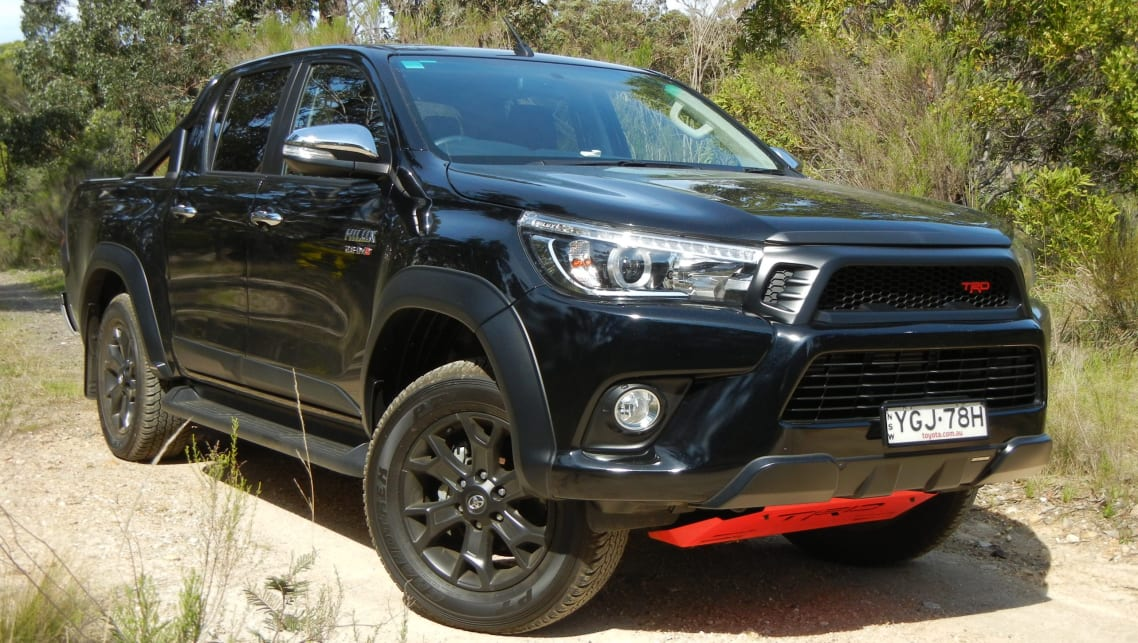 toyota hilux trd pack 2018 review carsguide. Black Bedroom Furniture Sets. Home Design Ideas