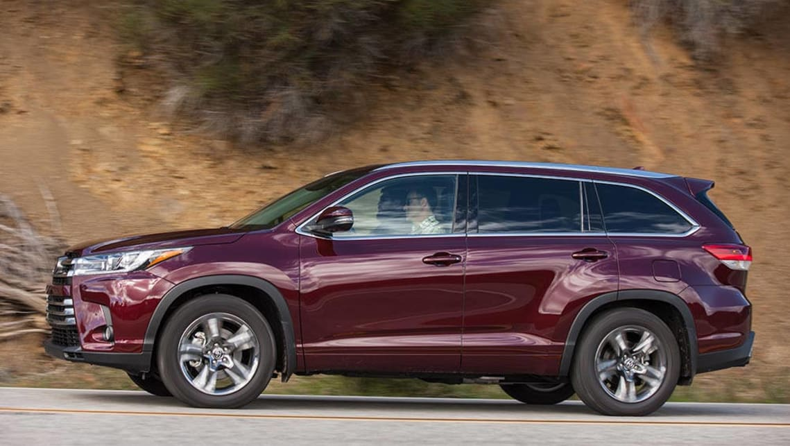 2018 toyota kluger australia. contemporary 2018 2017 toyota kluger overseas model pictured intended 2018 toyota kluger australia