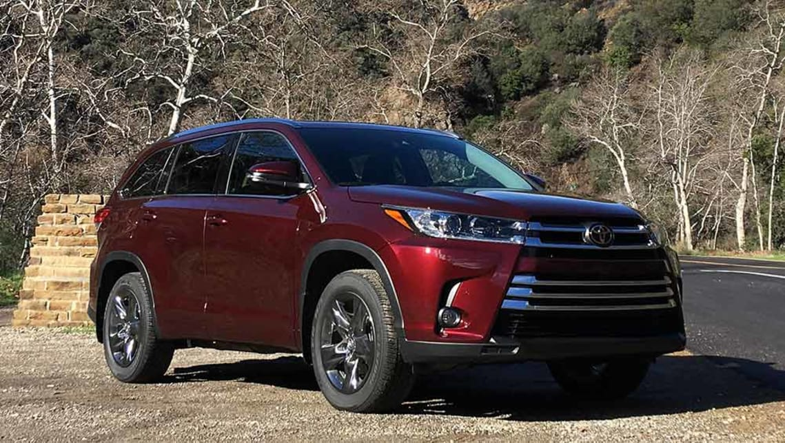 2018 toyota kluger.  2018 2017 toyota kluger in the usa image credit tim robson on 2018 toyota kluger
