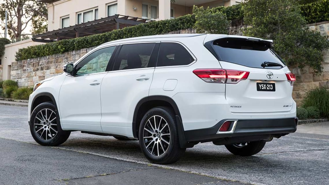 2017 Toyota Kluger New Car Sales Price Car News