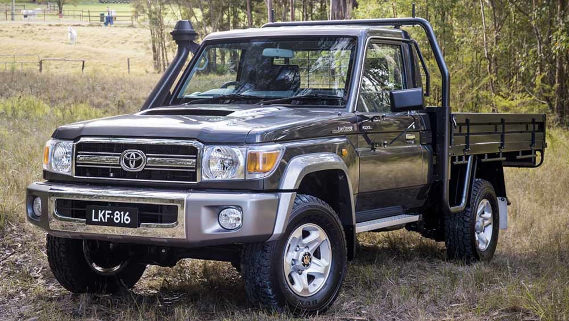 Toyota Land Cruiser 70 Series Gets Ility And Traction Control