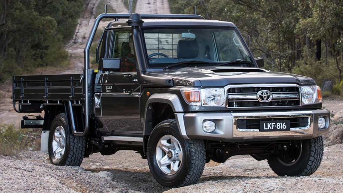 Toyota Land Cruiser 70 Series Gets Stability And Traction