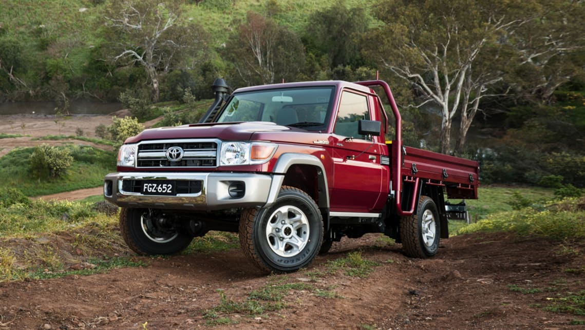New toyota land cruiser ute