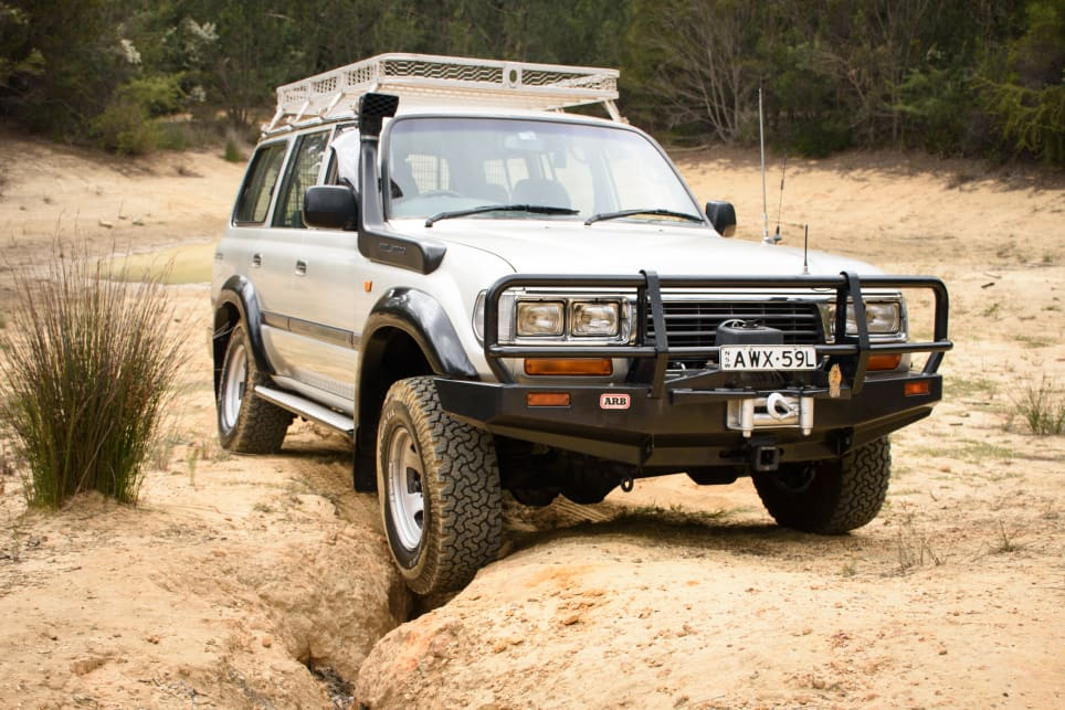 Classic-looking and with stacks of off-roading ability, it's no wonder the 80 remains very popular. (image credit: Tom White)