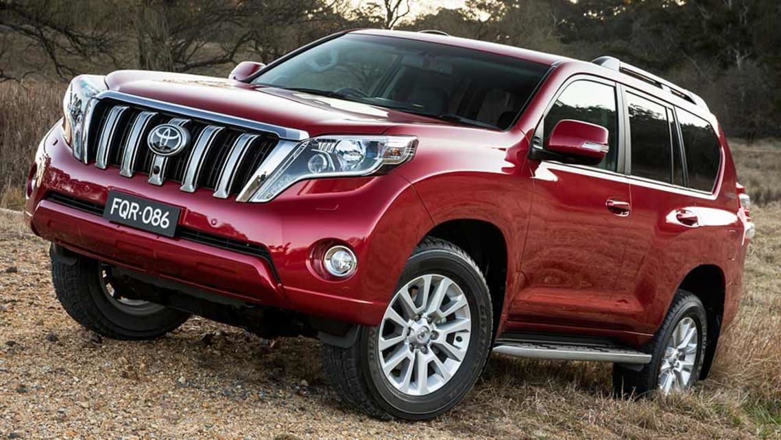 2015 Toyota Landcruiser Prado Kakadu Review Road Test