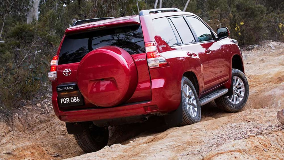 Toyota LC Prado 2016 Разгон 2.8 Diesel
